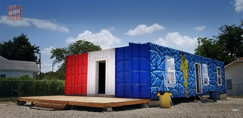 shipping container home kit